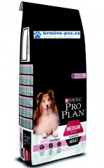 ProPlan Dog Adult Medium Sensitive Skin 14kg Optiderma