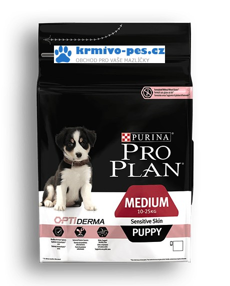 ProPlan Dog Puppy Medium Sens.Skin 12kg