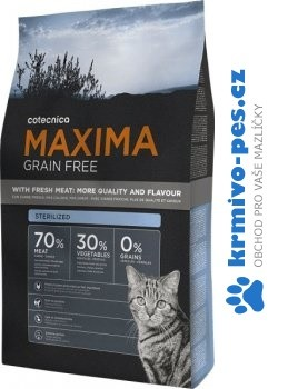 Maxima Cat Adult Sterilized Grain Free 3kg