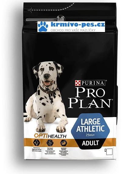 Proplan Optihealt Dog Adult Large Athletic 3kg