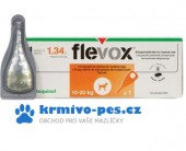 Flevox Spot-On Dog M 134mg sol 1x1,34ml