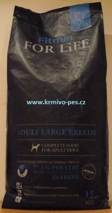 Fitmin pes For Life adult large 15kg
