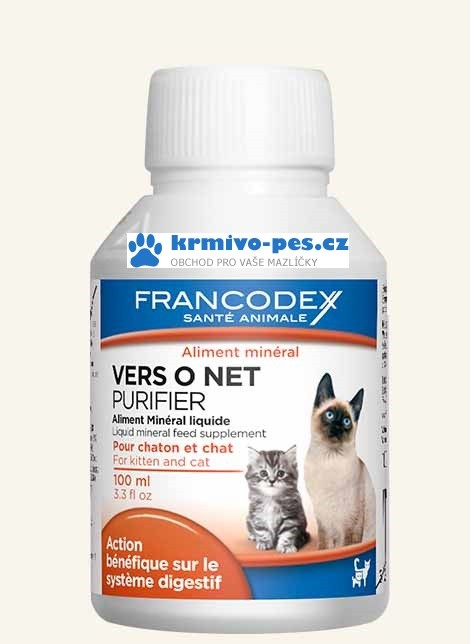 Francodex Vers O Net kočka, kotě 100ml