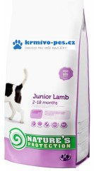 Nature's Protection Dog Dry Junior Lamb 2kg