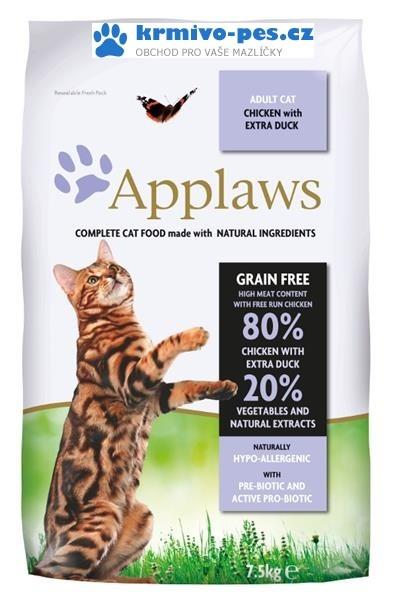 Applaws Cat Dry Adult Duck 2kg
