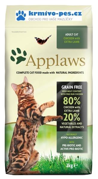 Applaws Cat Dry Adult Lamb 2kg