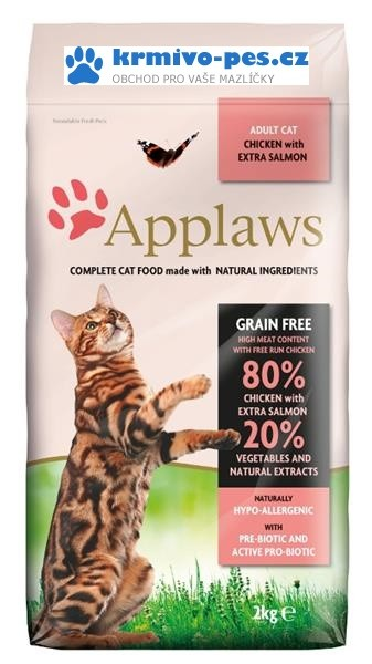 Applaws Cat Dry Adult Salmon 7,5kg