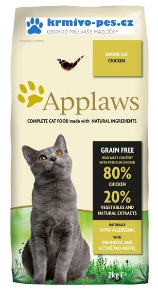 Applaws Cat Dry Senior 7,5kg