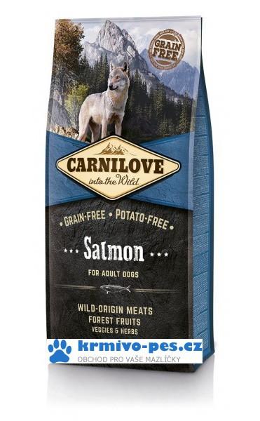 Carnilove Dog Salmon for Adult 12kg + sleva pro registrované