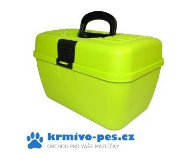Box na příslušenství Zelený ARGI 29 x 19 x 18 cm