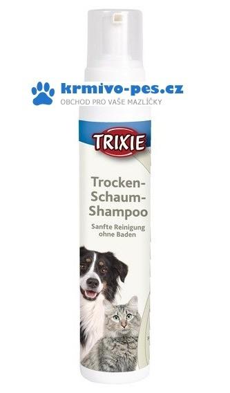 TRIXIE Suchý šampon v pěně Trockenshampoo 450ml