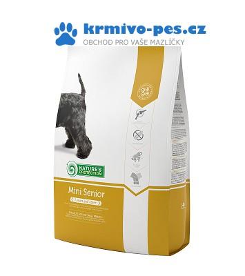 Nature's Protection Dog Dry Senior Mini 2kg