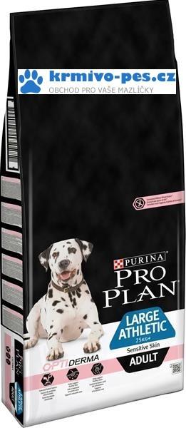 ProPlan Dog Adult Large Athletic Sensitive Skin 14kg Optiderma