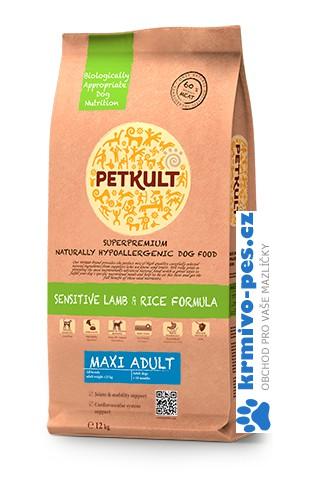 PETKULT MAXI ADULT lamb/rice 12 kg