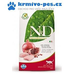 N&D GF CAT KITTEN Chicken & Pomegranate 10kg ( balení 2x10kg)