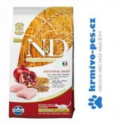 N&D LG CAT Neutered Chicken & Pomegranate 10kg ( balení 2x10kg)