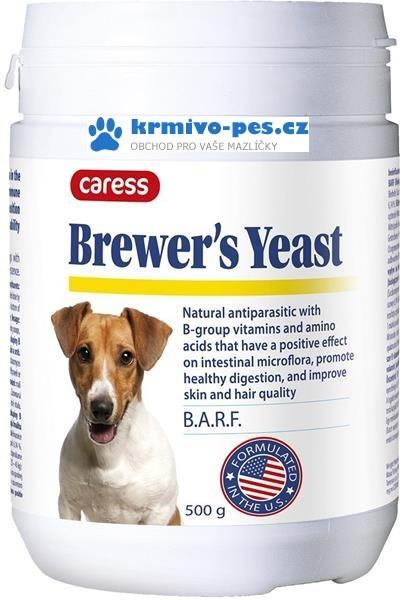 Pivovarské kvasnice prášek 500g Caress Brewer's Yeast