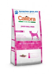 Calibra Dog GF Junior Small Breed Duck 7kg + dentální pamlsek 2ks
