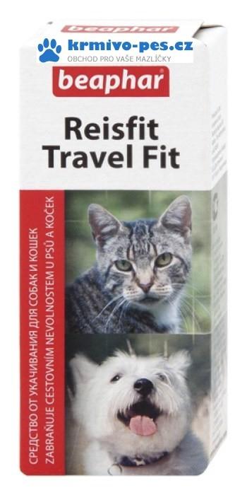 Beaphar Reisfit tablety proti nevolnosti psů a koček, 10tbl