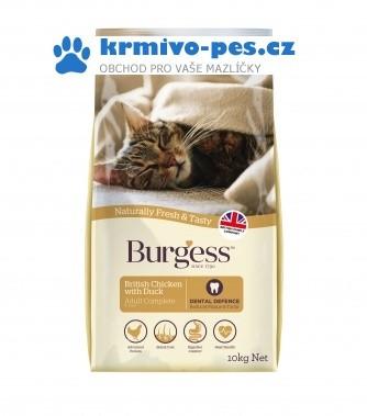 BURGESS cat ADULT chicken/duck 10kg