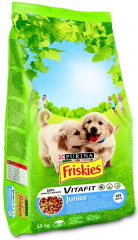 Friskies dog dry Junior 15kg