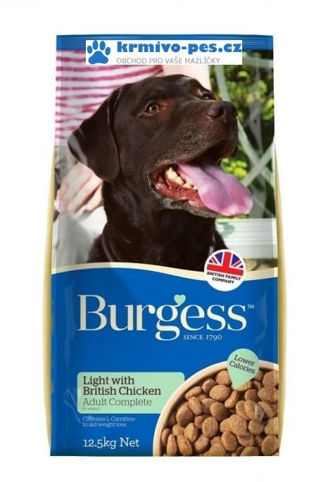 BURGESS dog LIGHT 12,5kg