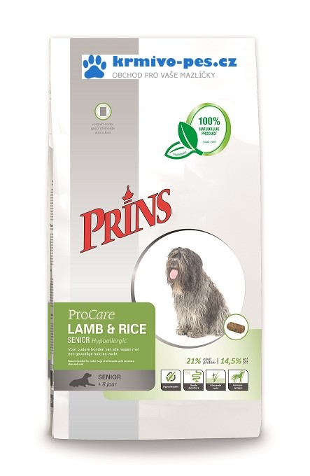 PRINS ProCare SENIOR LAMB/rice 15kg