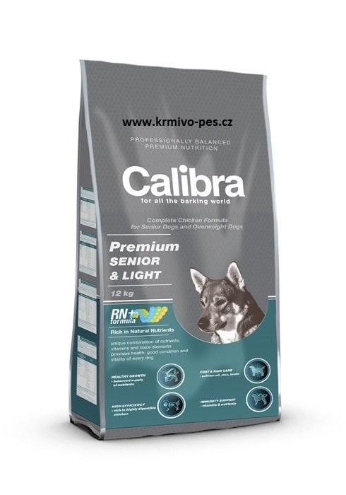 Calibra Dog Premium Senior&Light 12kg new