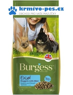 BURGESS excel RABBIT JUNIOR/dwarf 2kg