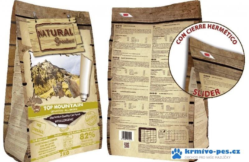 Natural Greatness Top Mountain Cat Recipe /králík/ 2 kg