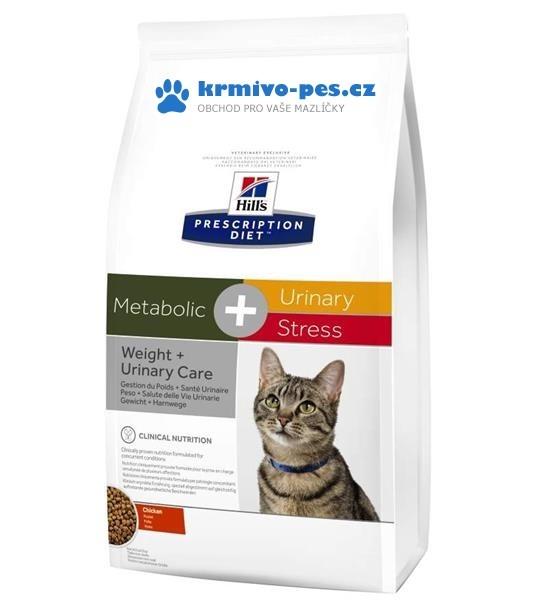 Hill's Feline Metabolic + Urinary Stress Dry 1,5 kg