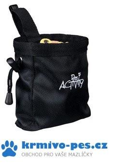 Sáček nylon na pamlsky Dog Activity 10x14cm TR černý