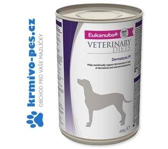 Eukanuba VD Dog Dermatosis konzerva 400 g