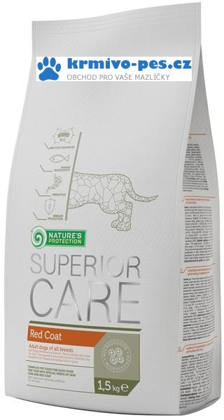 Nature's Protection Dog Dry Superior Red Coat 1,5 kg