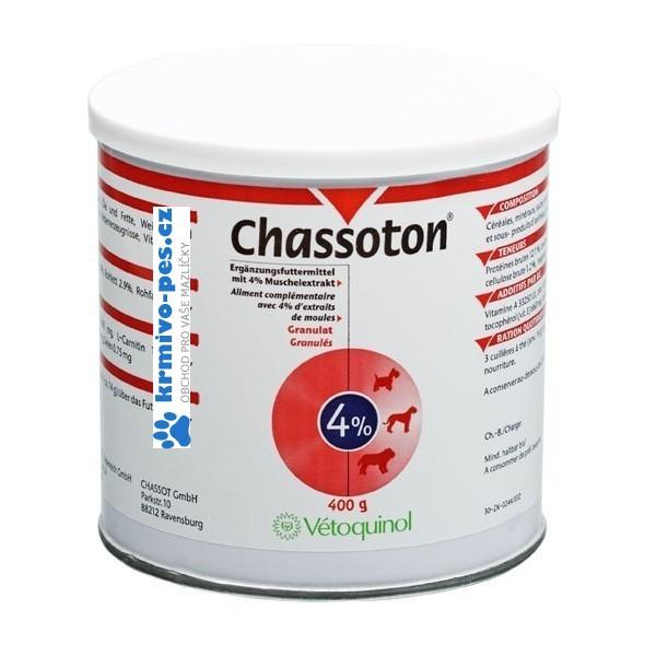 Vétoquinol Chassoton 4% plv 400g