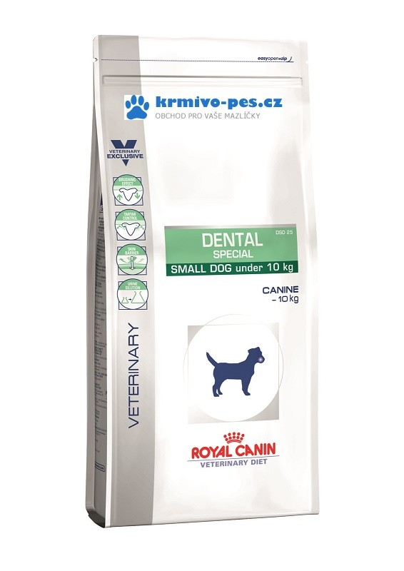 Royal Canin VD Dog Dry Dental Small DSD25 2kg