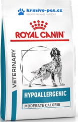 Royal Canin VD Dog Dry Hypoallergenic Mod Calorie 14kg