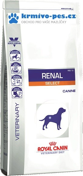 Royal Canin VD Dog Dry Renal Select 10 kg