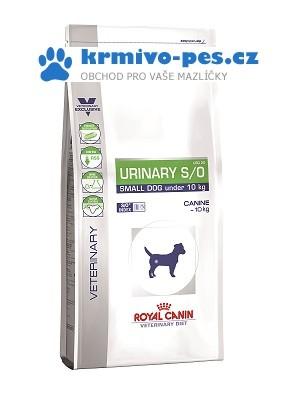 Royal Canin VD Dog Dry Urinary S/O Small Dog 4 kg