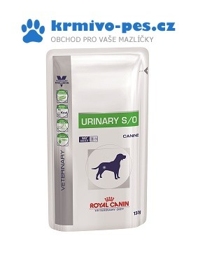 Royal Canin VD Dog kaps. Urinary S/O 10x150g