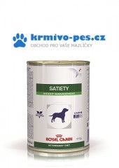 Royal Canin VD Dog konz. Satiety Weight 410g