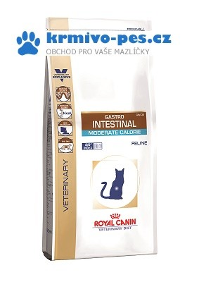 Royal Canin VD Cat Dry Gastro Intestinal Mod Cal. 2 kg