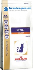Royal Canin VD Cat Dry Renal Select 4kg