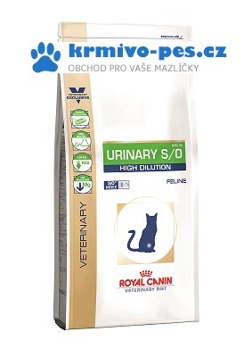 Royal Canin VD Cat Dry Urinary S/O High Dilution 1,5 kg