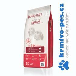 Fitmin pes Medium Senior 15kg