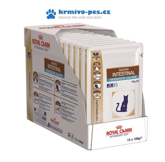Royal Canin VD Cat kaps. Gastro Intest. Mod Cal. 12x100 g