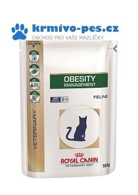 Royal Canin VD Cat kaps. Obesity 12x100 g
