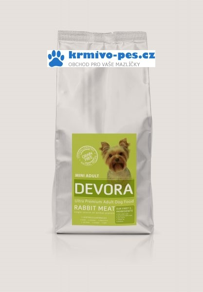 DEVORA dog GF MINI ADULT/rabbit 4kg