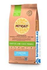 PETKULT dog STARTER lamb/rice 2kg
