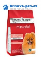 Arden Grange Dog Adult Chicken Mini 2kg